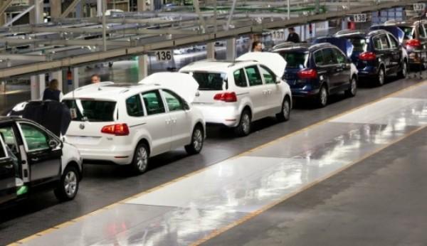 Produção automóvel subiu 51,6% em Janeiro