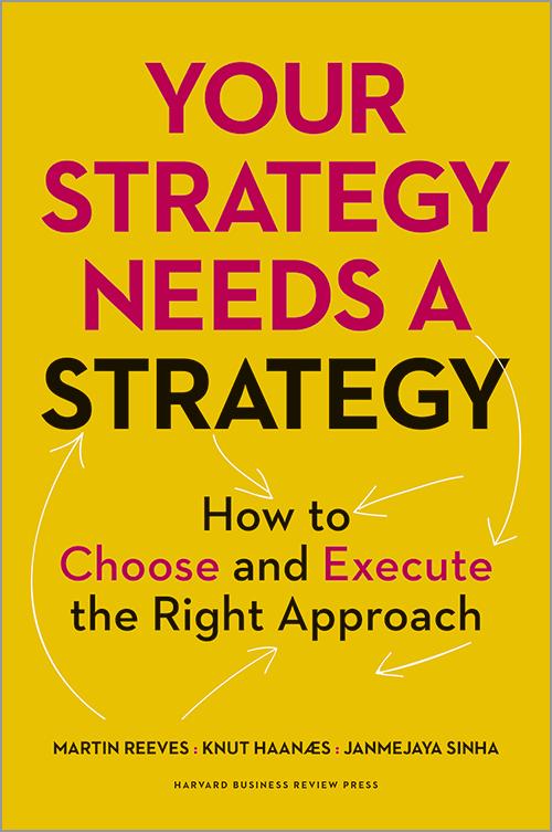 Leitura | A sua estratégia precisa de uma estratégia