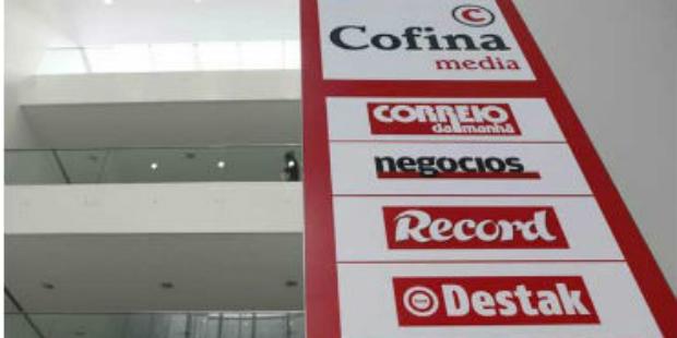 Cofina/Media Capital: Dona do Correio da Manhã pediu registo da OPA