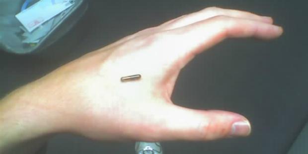 Já imaginou ter as chaves de casa debaixo da pele?
