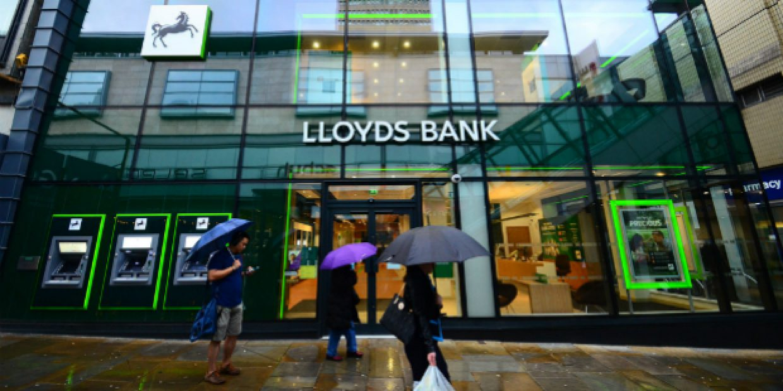 Lucro do banco Lloyds subiu 163%