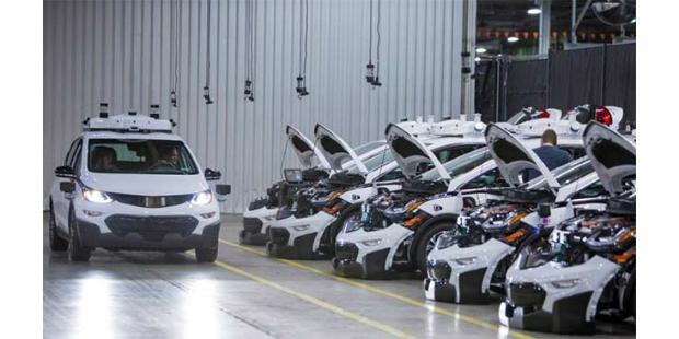 GM conclui produção de 130 autónomos