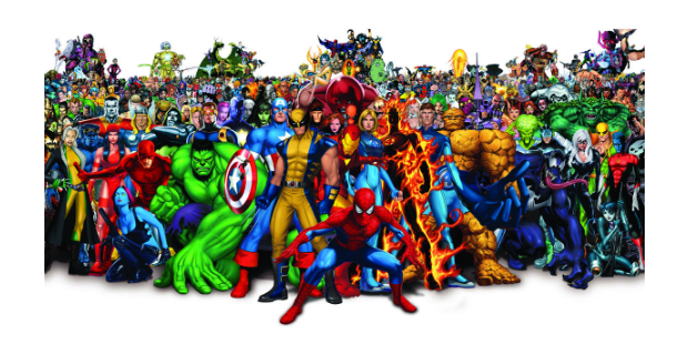 Marvel domina o universo