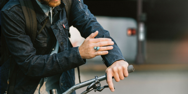 Levi's e Google criam casaco para ciclistas