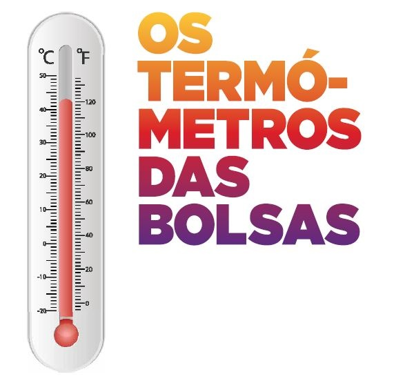 Os termómetros das Bolsas