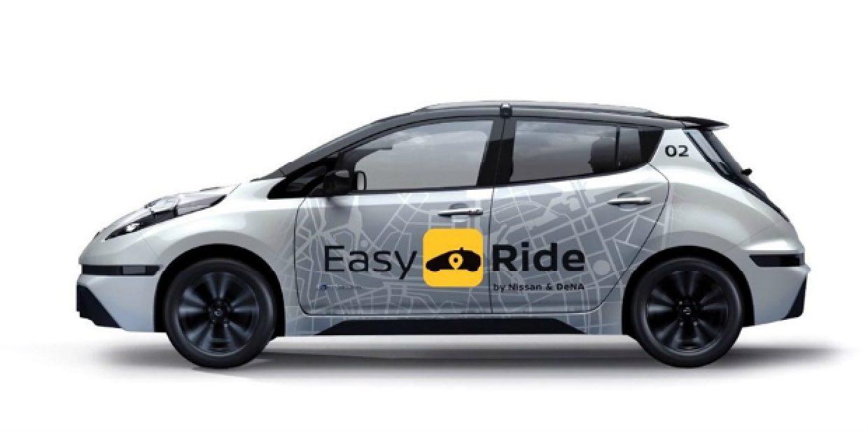 Nissan apresenta serviço de mobilidade autónoma