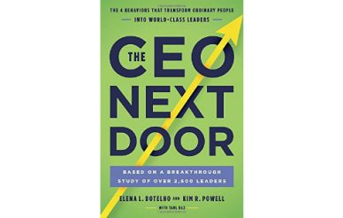 Teremos todos um CEO dentro de nós?