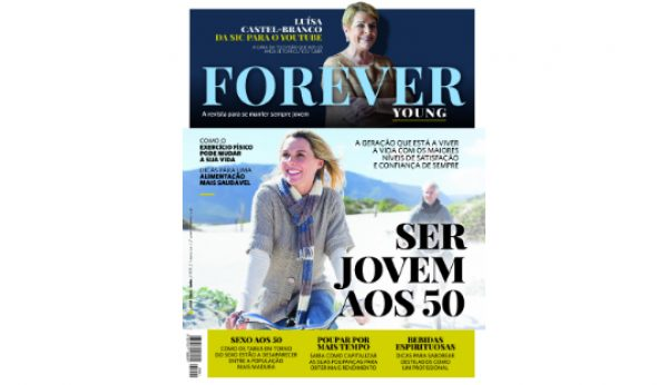Forever Young: a nova revista para leitores acima dos 50
