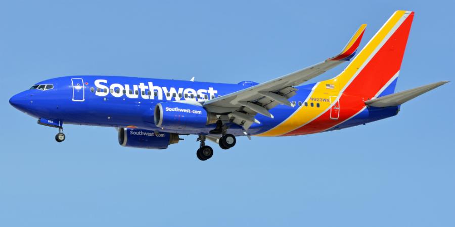 Southwest Airlines distribui 125 milhões de dólares pelos colaboradores