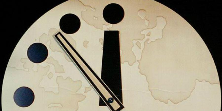 Resultado de imagem para O Relógio do Apocalipse diz que o mundo está a 100 segundos do fim